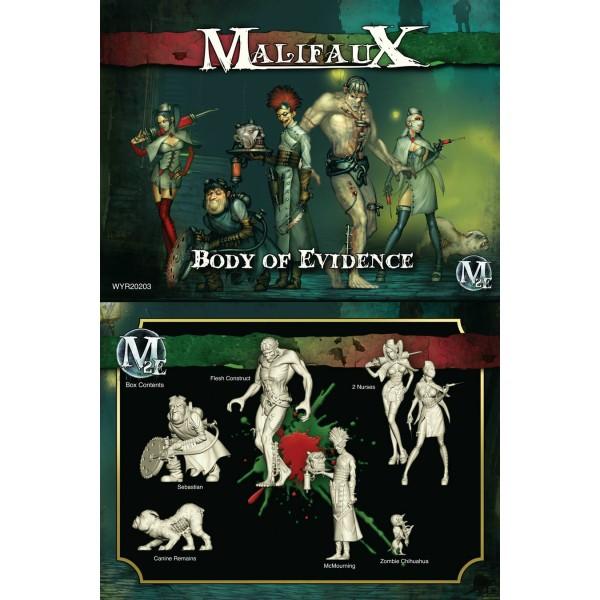 Malifaux - Resurrectionists - Body of Evidence - McMourning Box Set