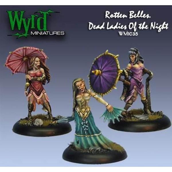 Malifaux - Resurrectionists - Rotten Belles
