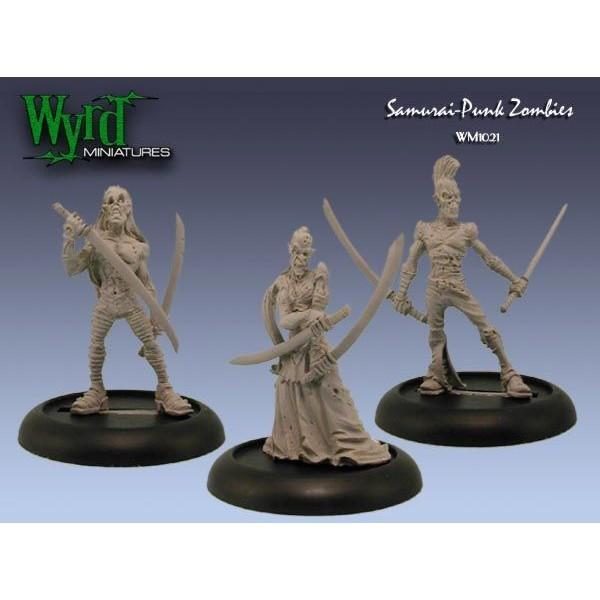 Malifaux - Resurrectionists - Samurai Punk Zombies