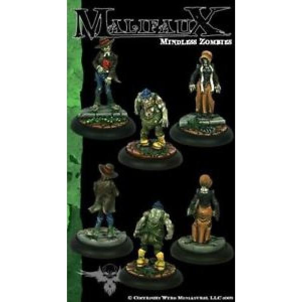 Malifaux - Resurrectionists - Mindless Zombies