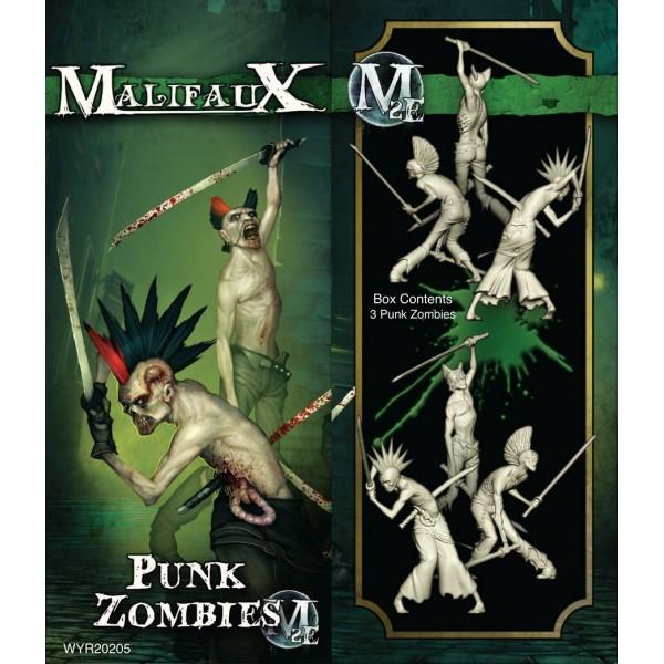 Malifaux - Resurrectionists - Punk Zombies (3 pack)