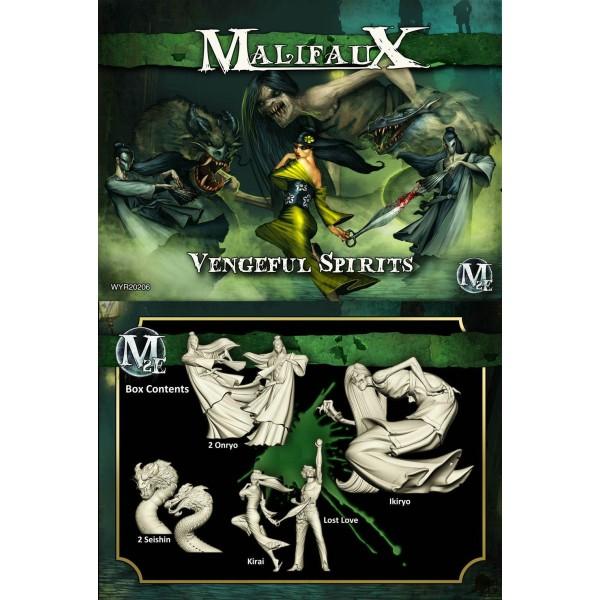 Malifaux - Resurrectionists - Vengeful Spirits - Kirai Box Set