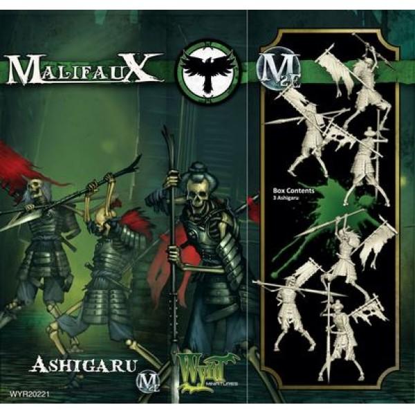 Malifaux - Resurrectionists - Ashigaru (3)