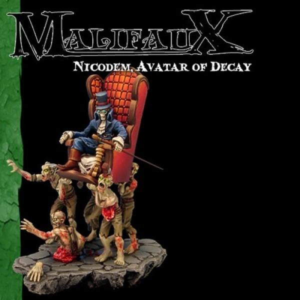 Malifaux - Resurrectionists - Nicodem Avatar of Decay