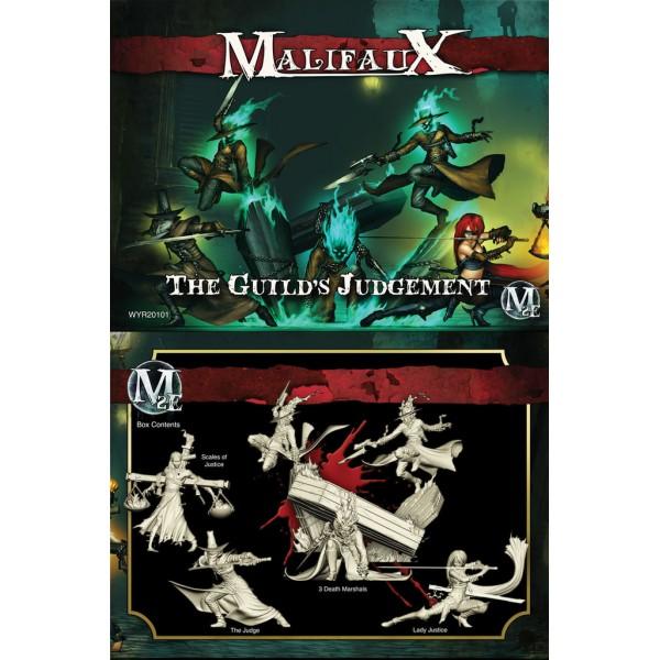 Malifaux - The Guild - The Guild's Judgement - Lady Justice Box Set