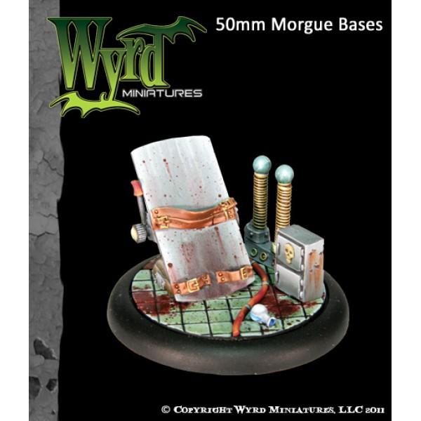 Malifaux - Base Inserts - Morgue - 50mm