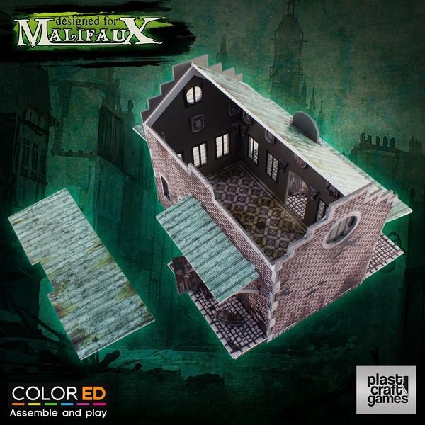 Plast Craft Malifaux Scenery - Train Station