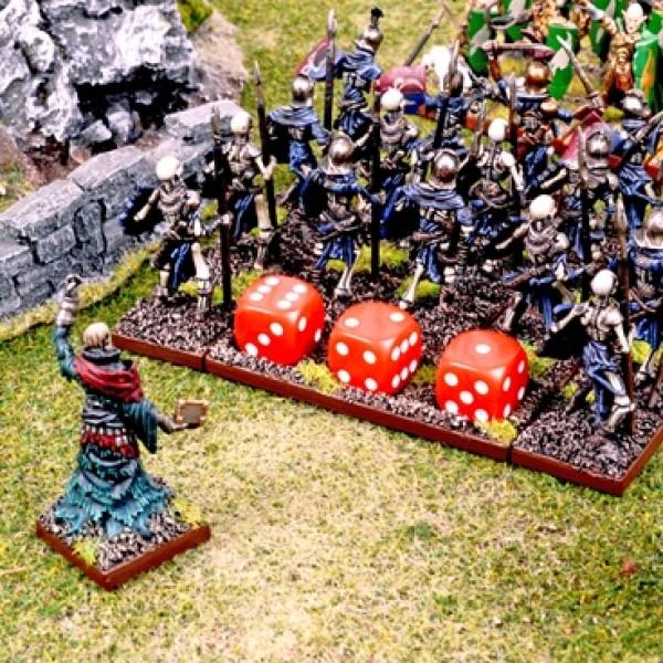 Mantic - Kings of war - Damage Trackers