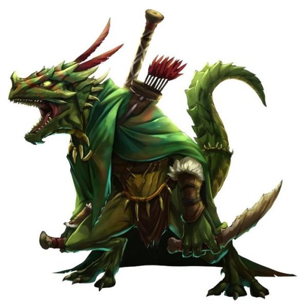 Mantic - Kings of War - Forces Of Nature - Artakl, Ghekkotah Clutch Warrior