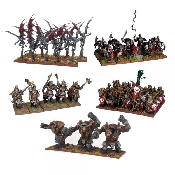 Mantic - Kings Of War - Abyssal Dwarf Army