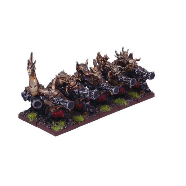Mantic - Kings Of War - Abyssal Dwarf Decimator Troop