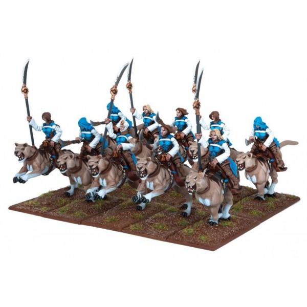 Mantic - Kings Of War - Basilean Panther Lancer Regiment