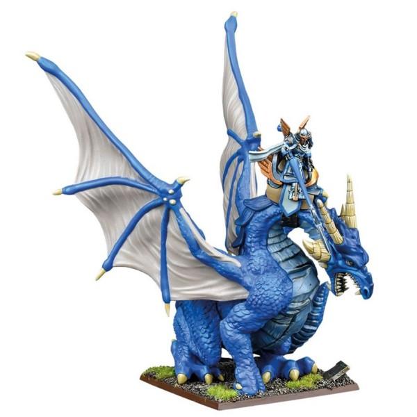 Mantic - Kings Of War - Basilean High Paladin On Dragon