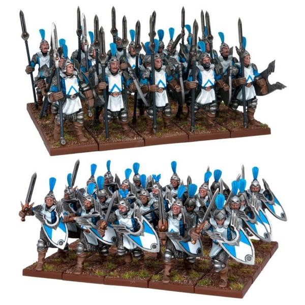 Mantic - Kings Of War - Basilean Men-at-Arms Horde