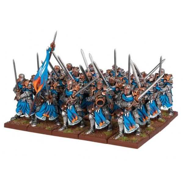 Mantic - Kings Of War - Basilean Paladin Footguard Regiment