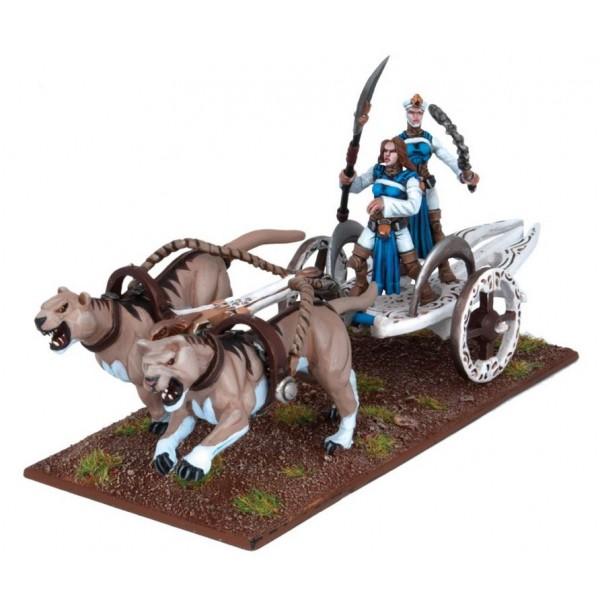 Mantic - Kings Of War - Basilean Panther Chariot