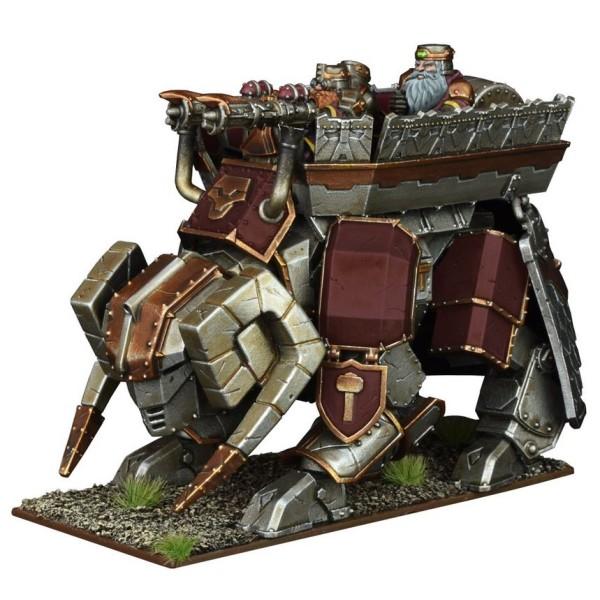Mantic - Kings Of War - Dwarf Steel Behemoth