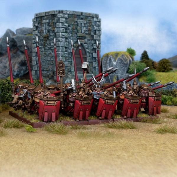 Mantic - Kings Of War - Dwarf Bulwarkers Regiment