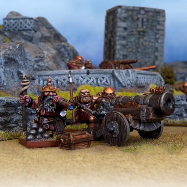Mantic - Kings Of War - Dwarf Bombard
