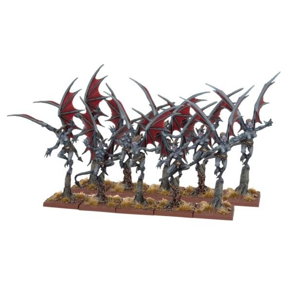 Mantic - Kings Of War - Abyssal Dwarf Gargoyles Half-Regiment