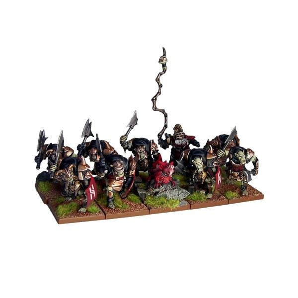 Mantic - Kings Of War - Abyssal Dwarf Slave Orcs