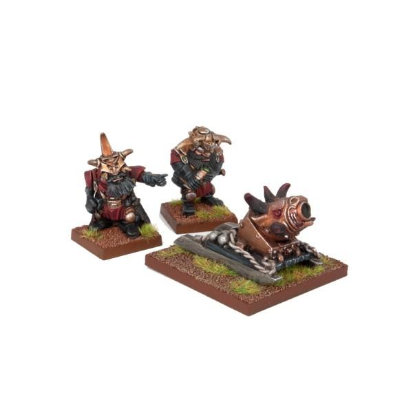 Mantic - Kings Of War - Abyssal Dwarf G'rog Light Mortar