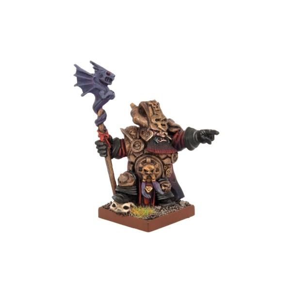 Mantic - Kings Of War - Abyssal Dwarf - Ghenna, Keeper of the Black Flame