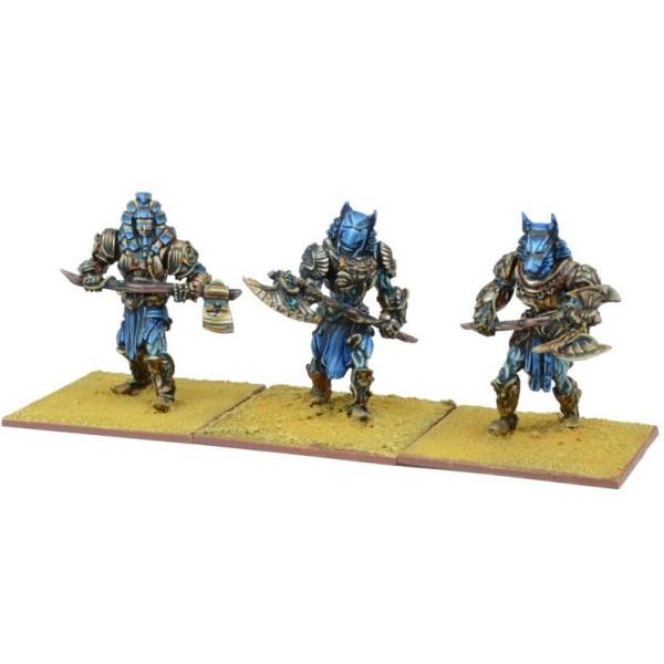 Mantic - Kings Of War - Empires Of Dust - Enslaved Guardian Regiment