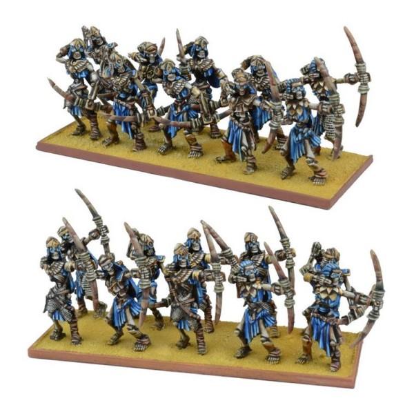 Mantic - Kings Of War - Empires Of Dust - Skeleton Archer Regiment