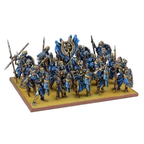 Mantic - Kings Of War - Empires Of Dust - Skeleton Regiment