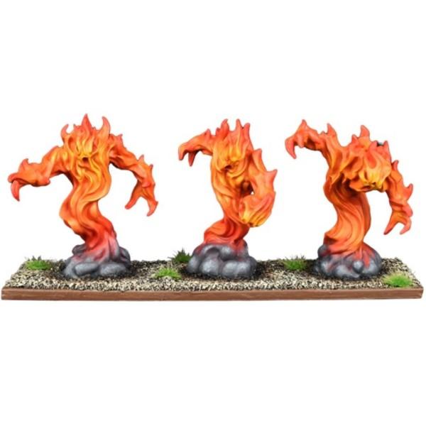 Mantic - Kings Of War - Forces of Nature - Fire Elemental Regiment
