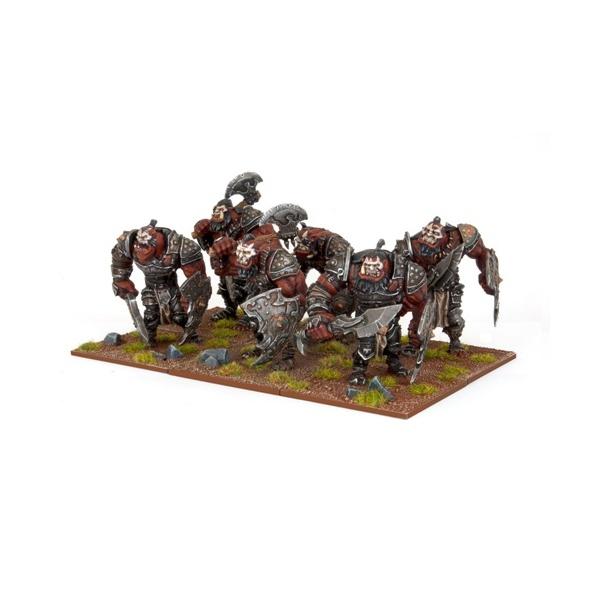 Mantic - Kings Of War - Ogre Warriors