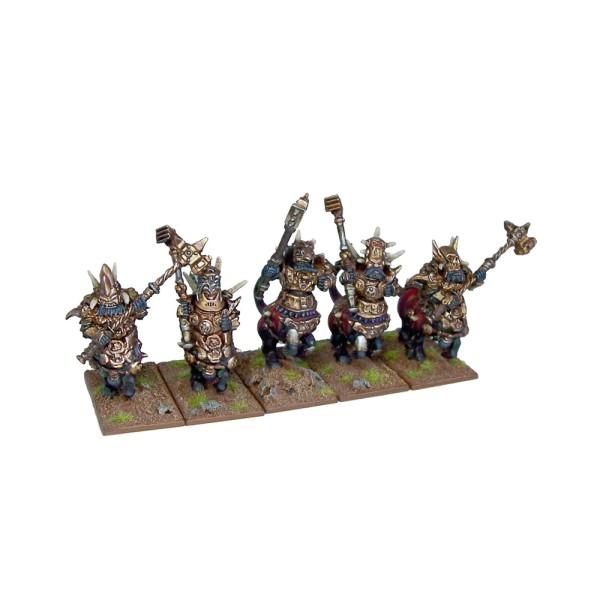 Mantic - Kings Of War - Abyssal Dwarf Half Breed Cavalry