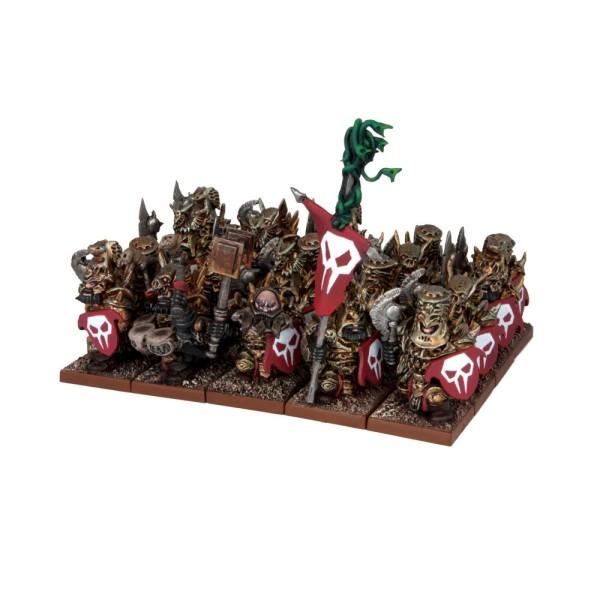 Mantic - Kings Of War - Abyssal Dwarf Immortal Guard Regiment
