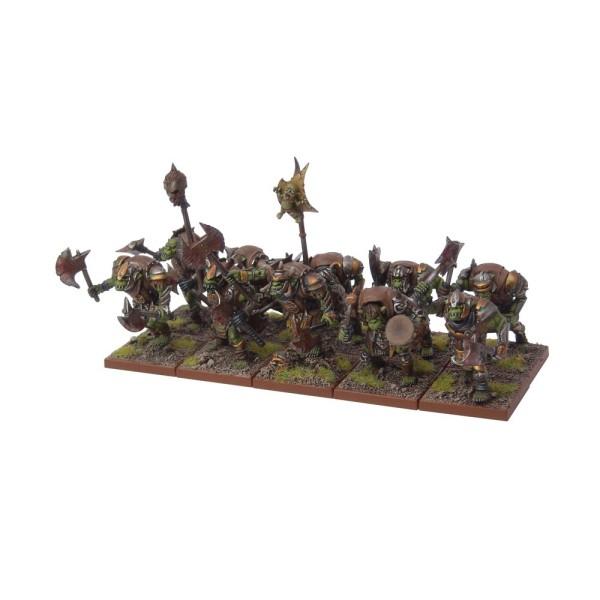 Mantic - Kings Of War - Orc Morax Troop
