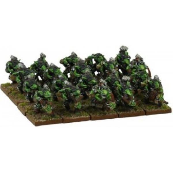 Mantic - Kings Of War - Goblin Spitters Regiment