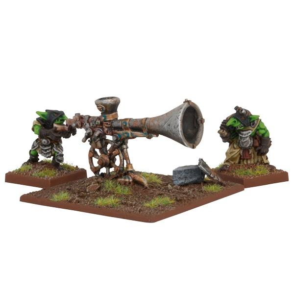 Mantic - Kings Of War - Goblin War Trombone