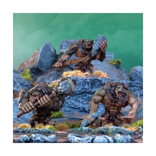 Mantic - Kings Of War - Orc Trolls