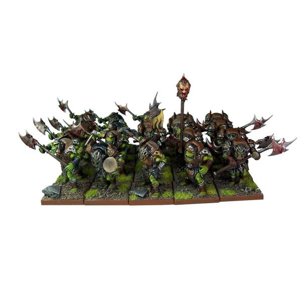 Mantic - Kings Of War - Orcs Greatax Regiment