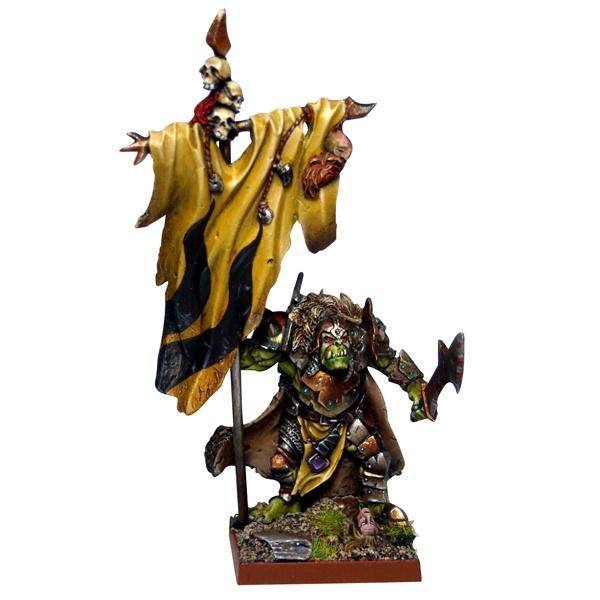 Mantic - Kings Of War - Orc Flagger