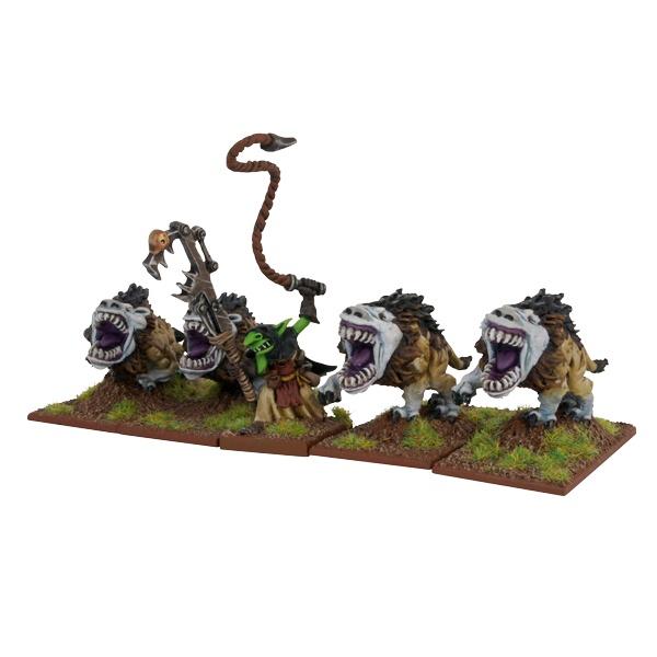 Mantic - Kings Of War - Goblin Mawbeast Pack