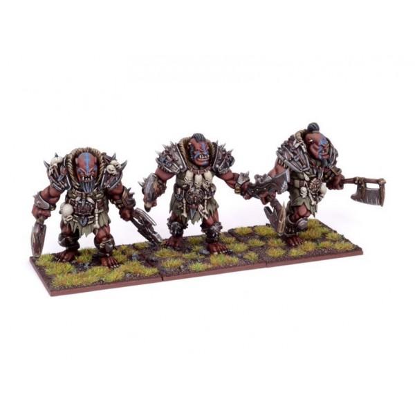 Mantic - Kings Of War - Ogre Berserker Braves