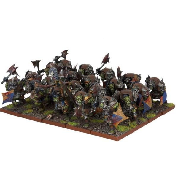 Mantic - Kings Of War - Orc Ax Regiment