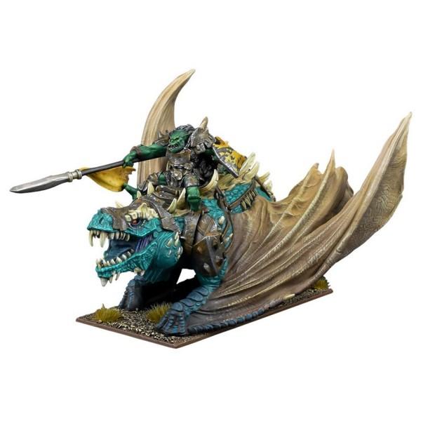 Mantic - Kings Of War - Orc Krudger on Winged Slasher