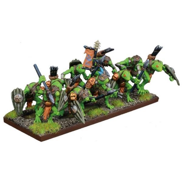 Mantic - Kings Of War - Trident Realm Riverguard Troop