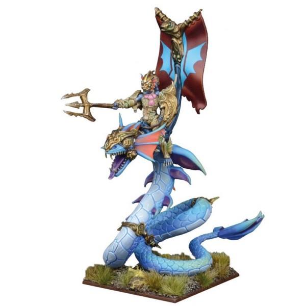 Mantic - Kings Of War - Trident Realm Naiad Wyrmrider Centurion