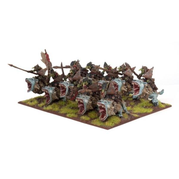 Mantic - Kings Of War - Goblin Fleabag Riders