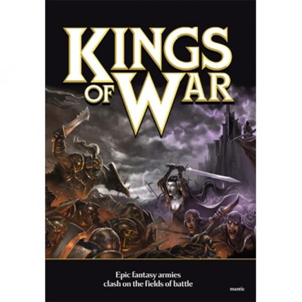 Mantic - Kings of war  - Hardcover Rulebook