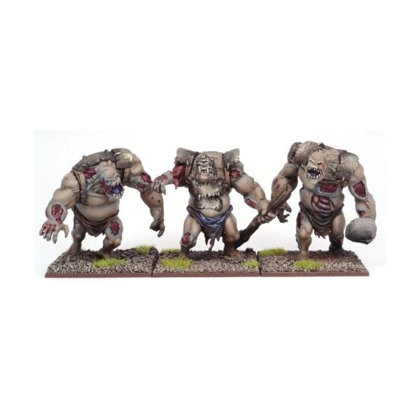 Mantic - Kings Of War - Undead Zombie Troll Regiment