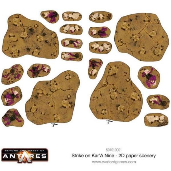 Beyond the Gates of Antares - Strike on Kar'A Nine - Starter Set